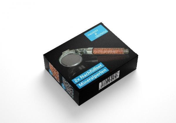mamir shower 3D Mineralperlen Set Zen Shower