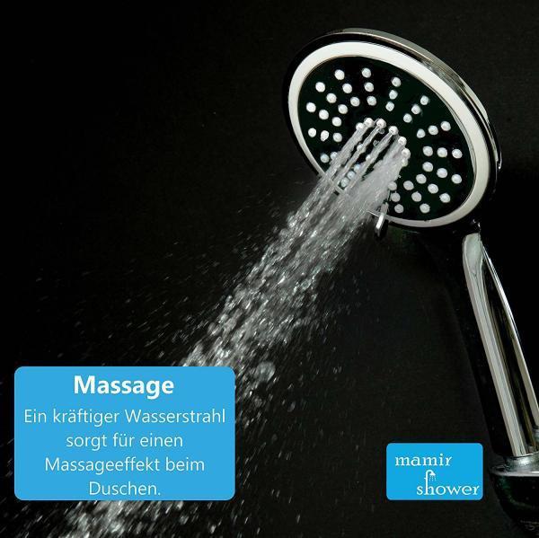 Massage Wellness Duschkopf