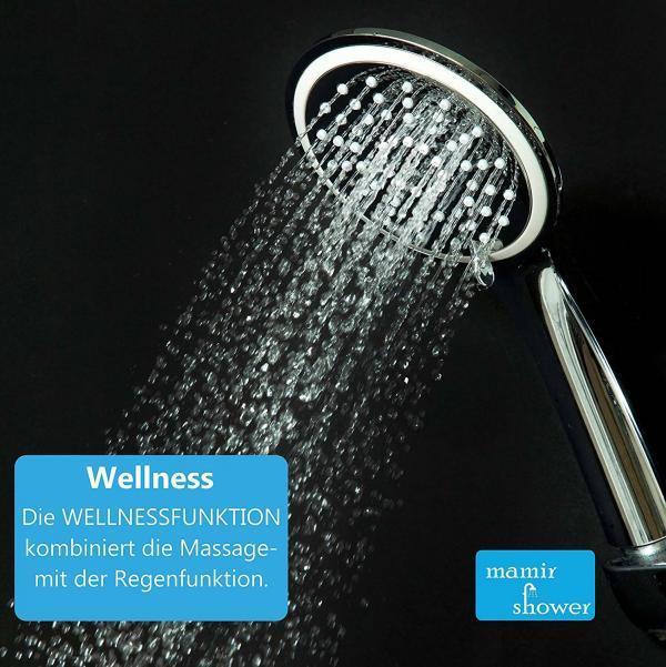 Wellness Duschkopf mit Beschreibung